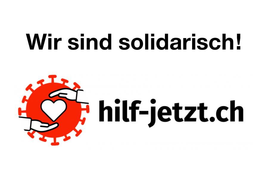 Wir sind solidarisch!
