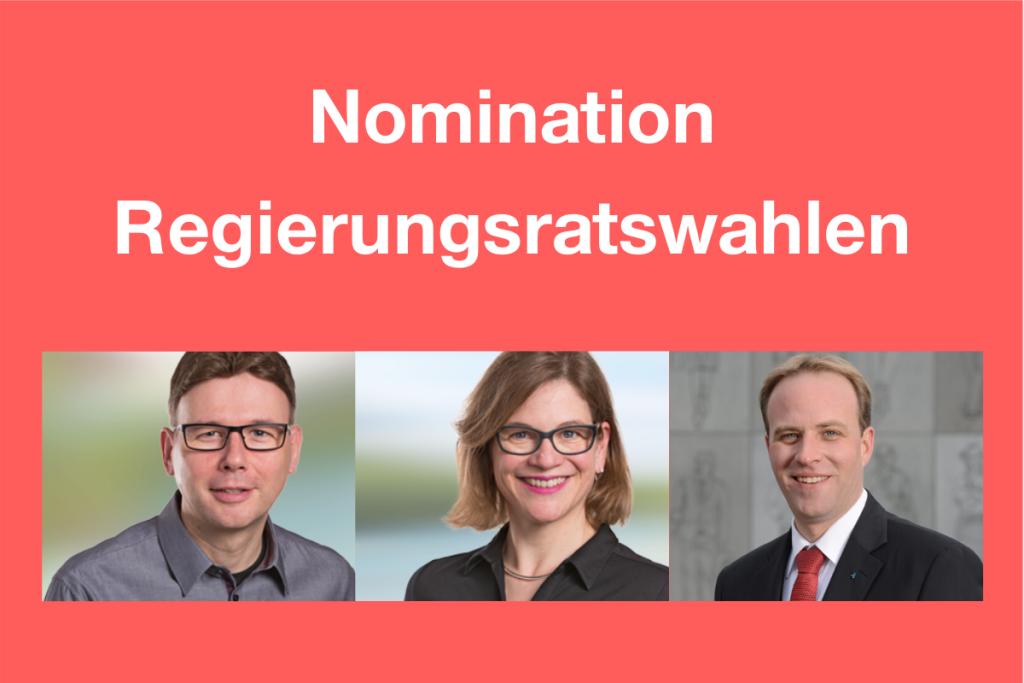 SP- Nomination Regierungsratswahlen